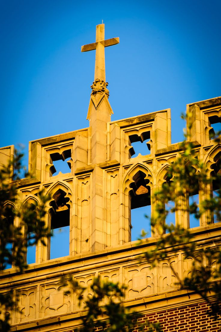Loyola University in New Orleans at golden hour