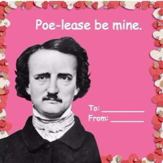 Poe Valentines Day Card Poe Lease Be Mine