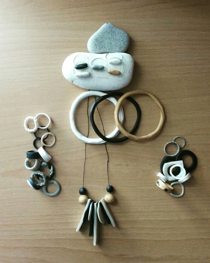 Jewels. Polymer clay. Rings/Bracelets/Pendants