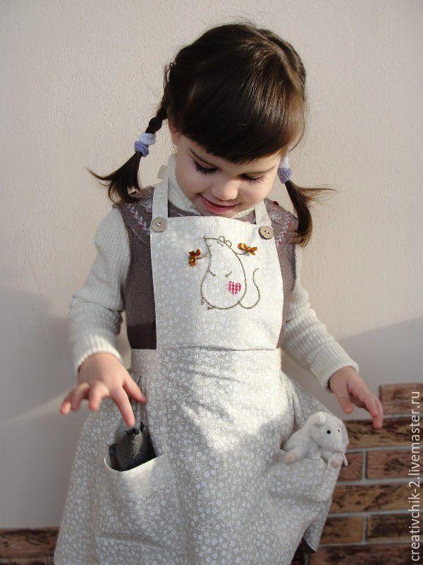 Купить Фартуки детские из натуральных тканей - фартук для кухни детский, детский фартук хлопок
