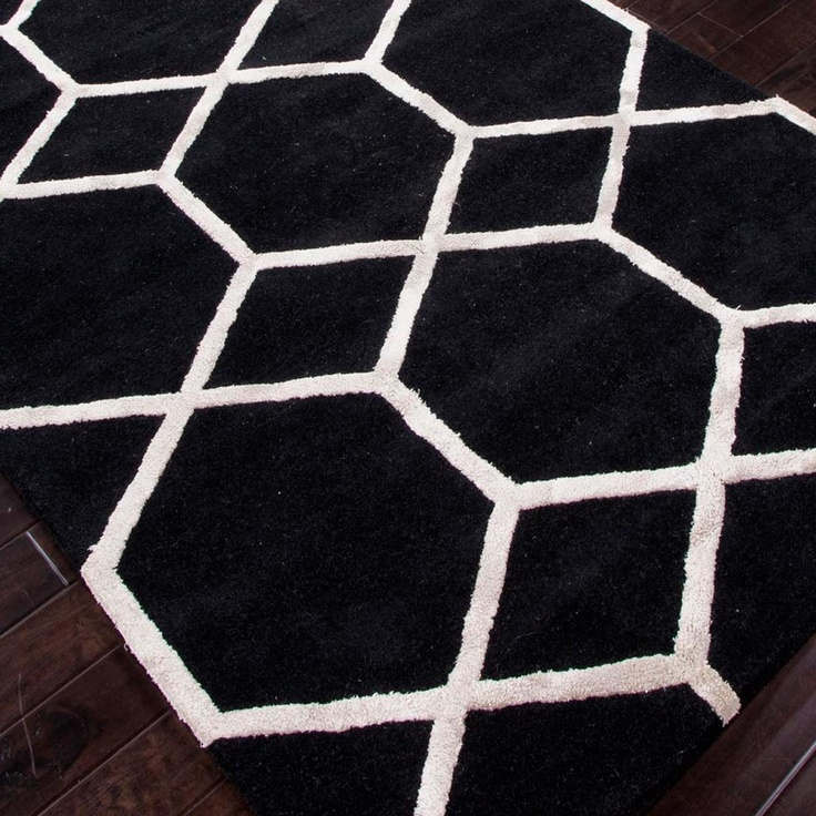 21 Best Images About Black And White Area Rugs Lamps And