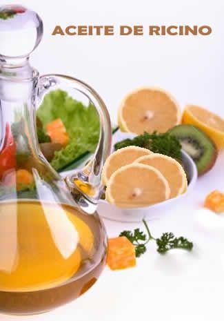 Uso del aceite de ricino en la limpieza de colon o limpieza intestinal