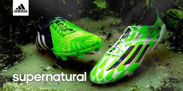 Give defenders a nightmare this Halloween. The #PredatorInstinct Supernatural and the adizero #F50 Supernatural from adidas!