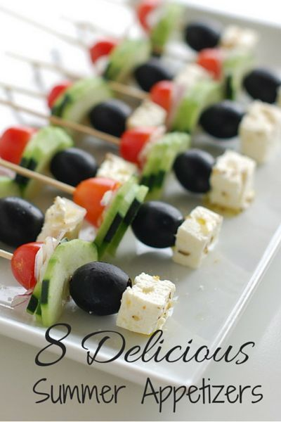 8 Delicious Summer Party Appetizers