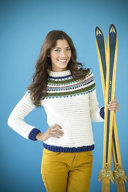 Ravelry: Nordic Pullover pattern by Mari Lynn Patrick