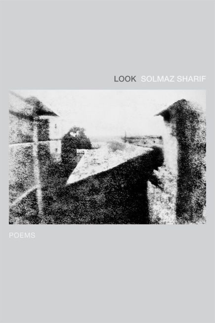 Look by Solmaz Sharif. Graywolf Press, 2016.  book review, 2016 books, book cover, poetry, poems, poetry review