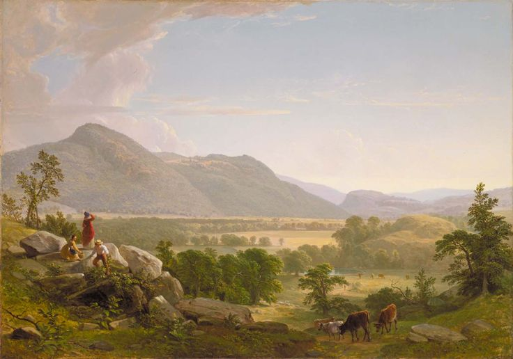 Dover Plains, Dutchess County, New York, 1848 by Asher B ...