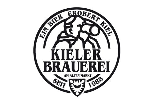 Kieler Brauerei Logo Design #logo #mark #identity #brand #beer #brewery