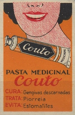 Pasta dentífrica Couto