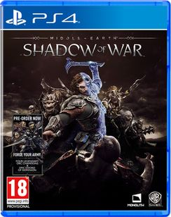 MiddleEarth Shadow Of War with Pre-Order Bonus #PS4 #Xbox One £36.85