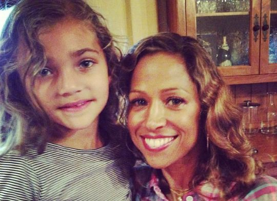 A STACEY DASH SPENDS QUALITY TIME WITH HER COUSIN DAMON DASH AND HIS KIDS - Black Celebrity Kids