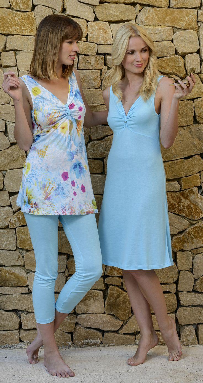 CYBÈLE Jaro-léto 2015 | Noční prádlo | Noční košile | Pyžamo | Nightwear | Nightdress | Pyjamas | www.naturana-plavky-pradlo.cz