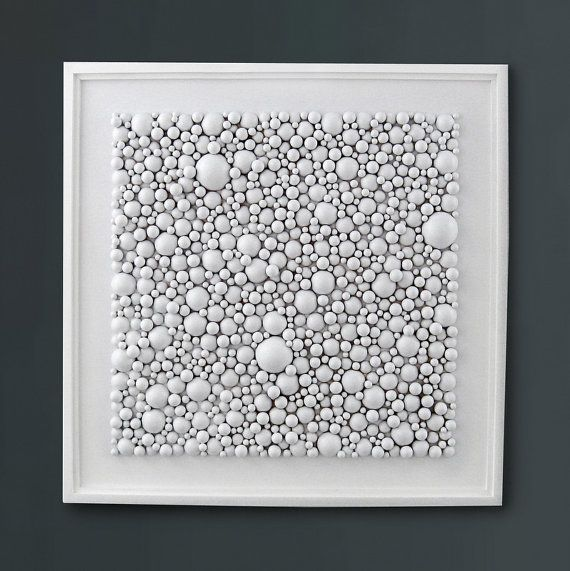 Wall Decor For White Walls : Ideas about easy abstract art on