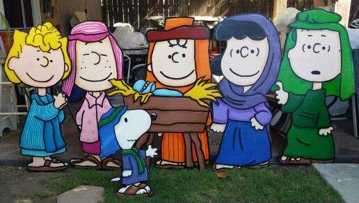 Peanuts Gang Nativity Set