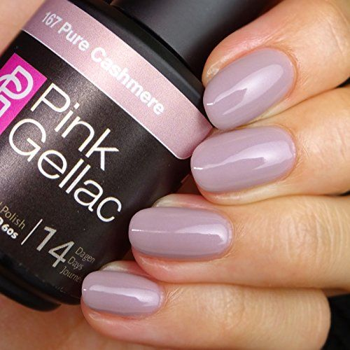 Pink Gellac 167 Pure Cashmere SoakOff UV  LED Gel Polish 15ml  05 fl oz >>> Want to know more, click on the image.Note:It is affiliate link to Amazon.