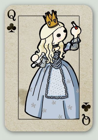 the White Queen by *NickyToons on deviantART