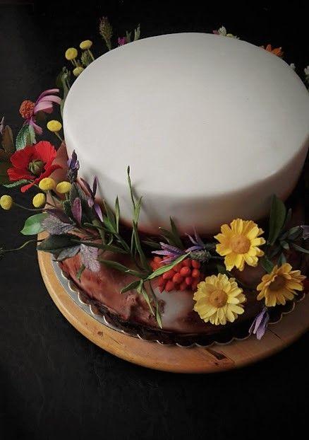 Herbs cake