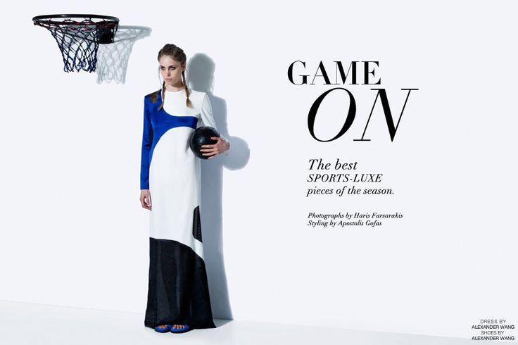 New Editorial for www.sohosoho.gr #fashion #sporty