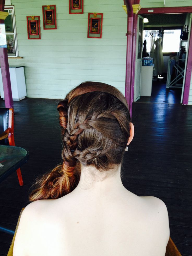 The Magic and Versatility of adding a braid to your wedding hair by Margaret on location at Beenleigh for JK Couture Designs.