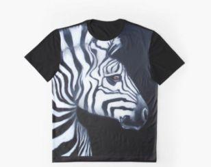 Zebra graphic tee