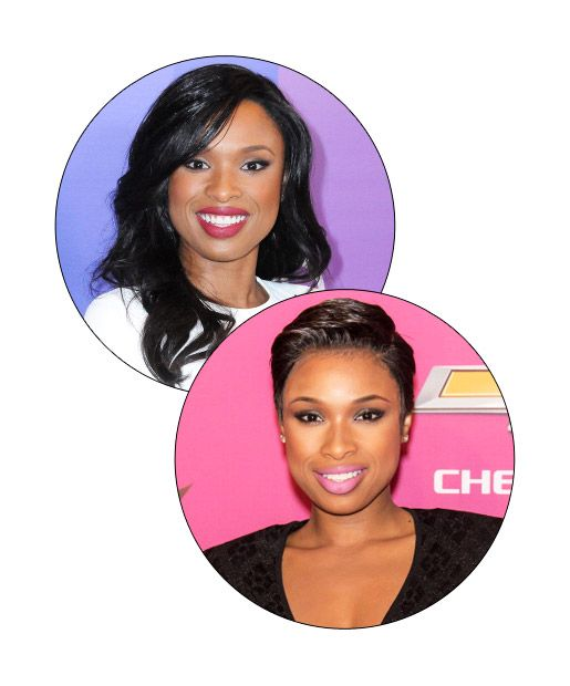 Jennifer hudson - Celebrities with pixie cuts
