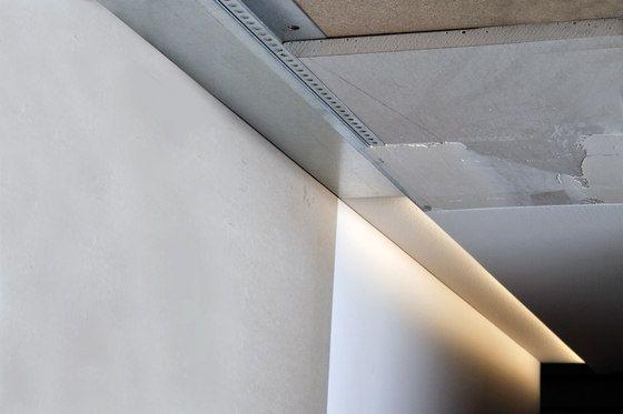 LED Lichtvoutenprofil von Hera | Wandeinbauleuchten