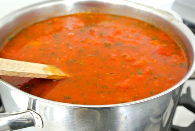 Soep met tomaat en paprika (Dutch)