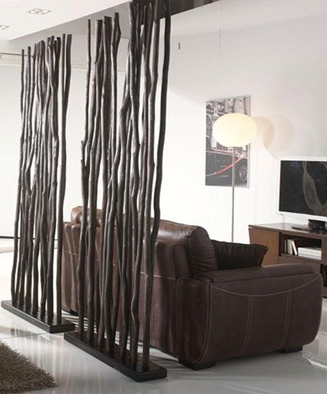 Biombo Paraban Karachi oscuro   Acabado en Bambu. Son troncos de madera tropical. Ideal ser ambientes.Biombo,Coloniales,Kazan,Muebles,Paraban,Rusticos... Eur:236 / $313.88