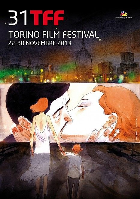 Lo splendido manifesto di Gipi per il XXXI Torino Film Festival - #movie #film #art #graphic #torino
