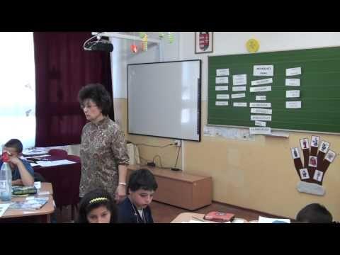 Lovas Emma Magyar nyelv és irodalom bemutató óra 4. osztály - YouTube