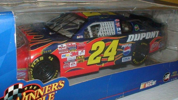 Jeff Gordon #24 Dupont Flames 1/18 Scale Nascar Diecast Collectible #WinnersCircle