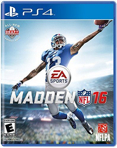 Madden NFL 16 - PlayStation 4 Electronic Arts http://www.amazon.com/dp/B00W435BU0/ref=cm_sw_r_pi_dp_KdGUvb0MZ172B