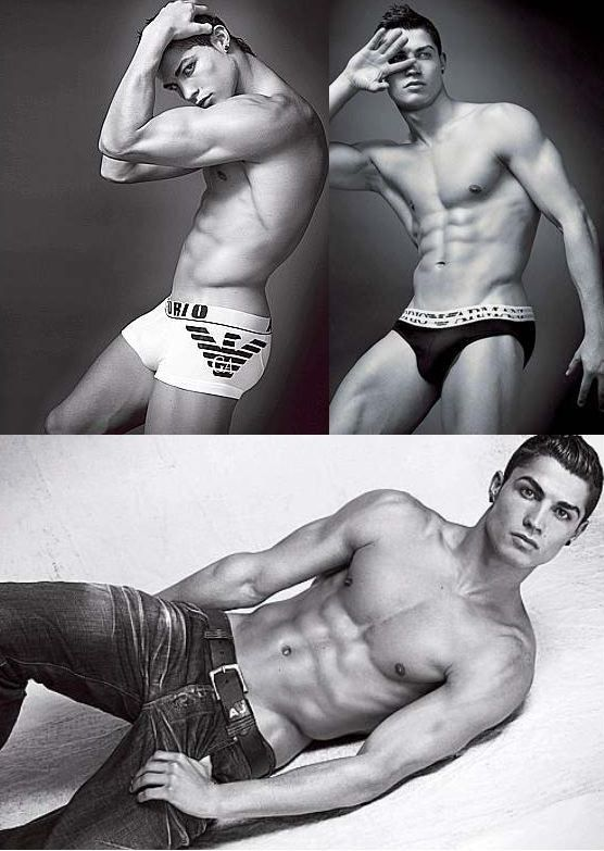 Cristiano Ronaldo is hot, but to be honest, not my favorite.