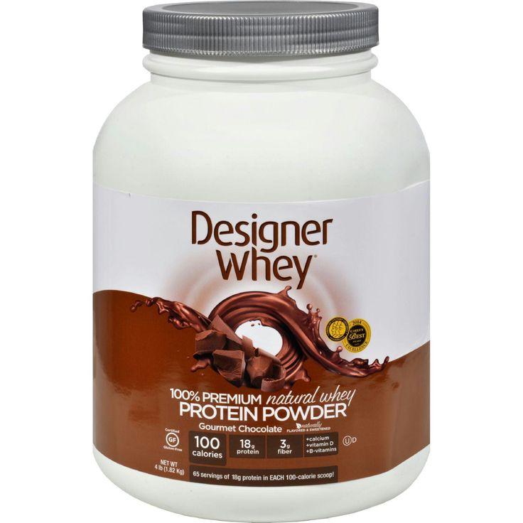 Designer Whey Protein Powder Chocolate - 4 lbs