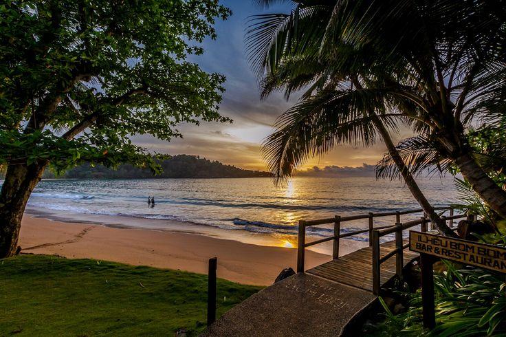 Principe Island in the little african nation of São Tome e Principe