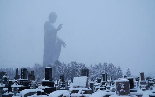 Ushiku Daibutsu is a statue located in Ushiku, Ibaraki...