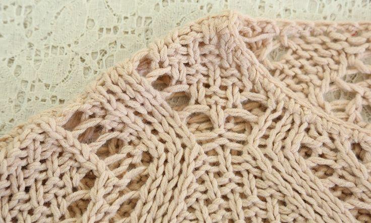 Pink Plain Round Neck Long Sleeve Cotton Sweatershirt