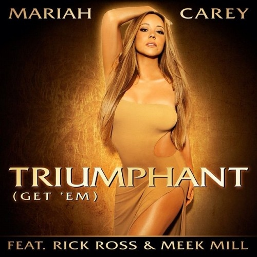 "Check out the premiere of Mariah Carey's new single ""Triumphant (Get 'Em)"" featuring Rick Ross and Meek Mill! The track serves as the lead single off her fourteenth studio album, due out later this year. Produced by Jermaine Dupri and Bryan-Michael Cox, ""Triumphant"" is classic a Mariah R mid-tempo jam with an urban flare.Mariah Carey, New Music, Hiphop, Meek Mills, Mariahcarey, Music Videos, Rick Ross, Covers Art, American Idol"
