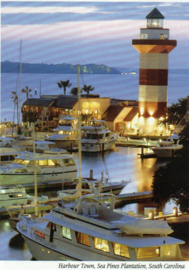 Harbour Town Lighthouse~Sea Pines Plantation~Hilton Head~South Carolina