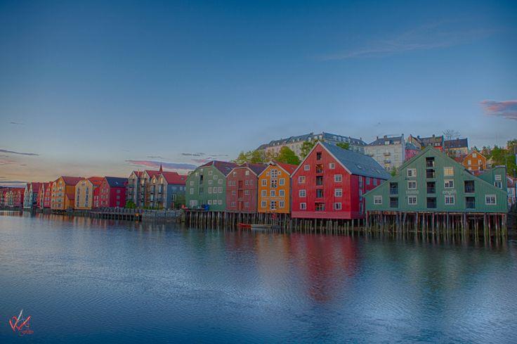 Old piers #Trondheim