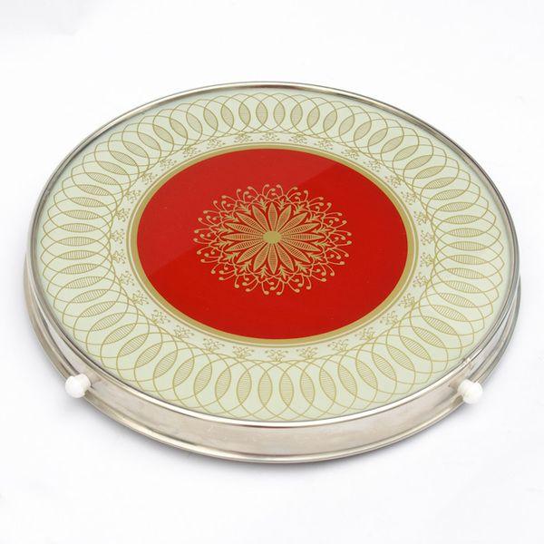 Vintage drehbare Tortenplatte - meine Oma hatte so eine. Sehr praktisch! Heute hab ich sie.