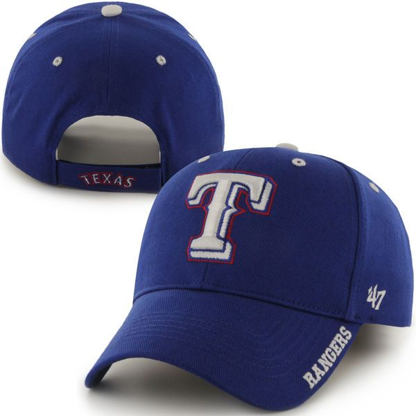 Texas Rangers '47 Brand Frost Structured Adjustable Hat - Royal - $19.99