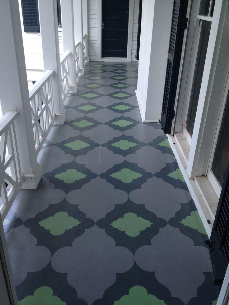 47 Best Painted Floors Images On Pinterest Flooring