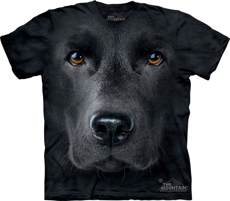 T-shirt Designs with Big Animal Faces on Them.