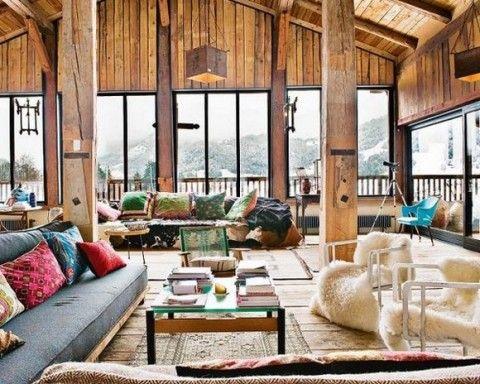 Cabaña de diseño en los Alpes 3