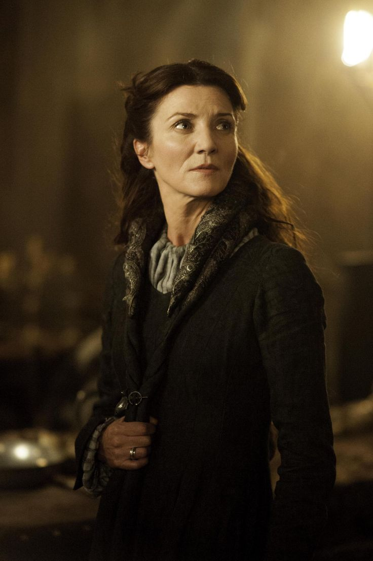 Catelyn (Tully) Stark, wife to Eddard and lady of Winterfell. Game of Thrones.
