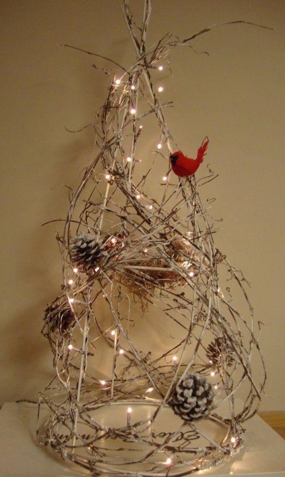 Inspiração, decoração natalina, árvore