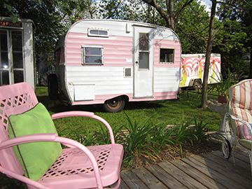 Camper Pink - We have a 1965 Shasta 20Deluxe, next I want a little pink girl.