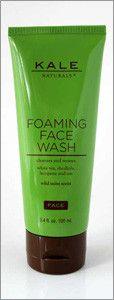 Kale Foaming Face Wash - 3.4 fl oz
