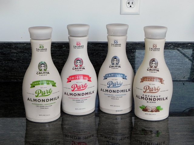 New review + GIVEAWAY!  Learn about Califia Farms' fantastic new almondmilks and enter to win half-gallons of all four delicious flavors.